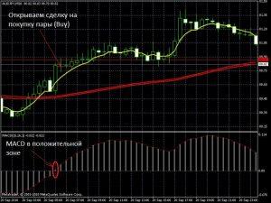 Сделка на покупку по стратегии «Метод Пуриа»